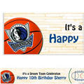 Dallas Mavericks Custom Banner 6ft
