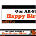 Cincinnati Bengals Custom Banner 6ft