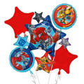 Transformers Balloon Bouquet 5pc