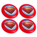 Superman Flying Discs 4ct