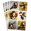 Iron Man Stickers 24ct