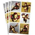 Iron Man Stickers 4 Sheets