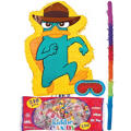 Pull String Phineas and Ferb Agent Perry Pinata Kit