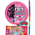 Rocker Girl Pinata Kit
