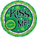 Kiss Me St. Patricks Day Button