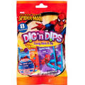 Spider-Man Candy Sticks & Dips 8ct