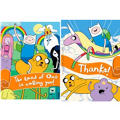 Adventure Time Invitations & Thank You Notes for 8