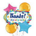 Thank You Balloon Bouquet 5pc