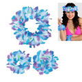 Cool Serendipity Head & Wrist Flower Lei Set 3pc