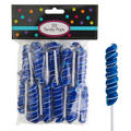 Royal Blue Twisty Pops 20pc