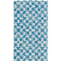 French Quarter Blue Guest Towels 16ct