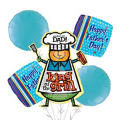 King of the Grill Balloon Bouquet 5pc