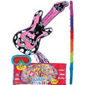 Pull String Rocker Girl Guitar Pinata Kit