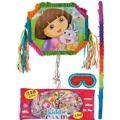 Pull String Dora the Explorer Pinata Kit