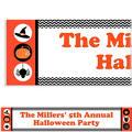 Modern Halloween Halloween Custom Banner