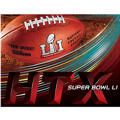 Super Bowl Cling Decal