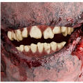Zombie Teeth 2pc