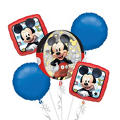 Mickey Mouse Balloon Bouquet 5pc - Orbz