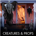 Scary Creatures & Halloween Props