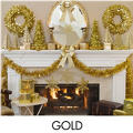 Gold Christmas Theme Party
