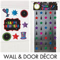 New Year's Eve Door & Wall Decorations