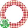 Picnic Party Red Gingham Party Supplies