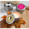 Personalized Wedding Candle Tins <br>(Printed Label)</br>