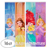 Disney Princess Party Bags with Ties 16ct