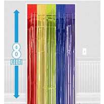Multi Color Door Curtain 8ft