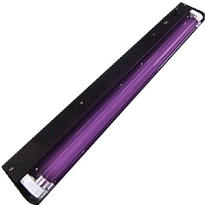 Deluxe Fluorescent Black Light Fixture 48in