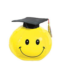 Graduation Autograph Smiley Face 8in with Pen