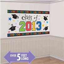 Class of 2013 Graduation Scene Setter 64in