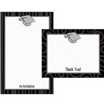 Graduation Day Printable Announcement Kit 50ct