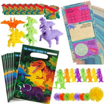 Prehistoric Dinosaurs Favor Pack 48pc