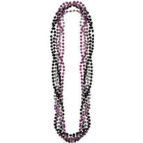Sparkle Sweet 16 Bead Necklace 32in 6ct
