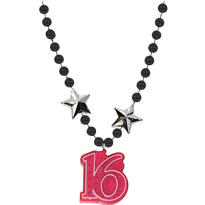 Sparkle Sweet 16 Light Up Necklace 40in