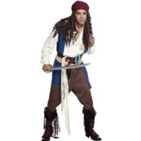 Adult Classic Captain Jack Sparrow Costume - Pirates of the Caribbean