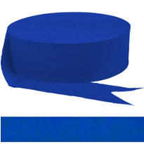 Royal Blue Streamer