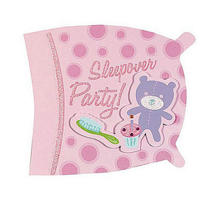 Jumbo Sleepover Invitations 8ct
