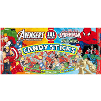 Comix Pals Candy Sticks 101ct