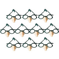 Funny Glasses 10ct