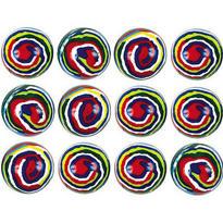 Swirl Bounce Balls 12ct