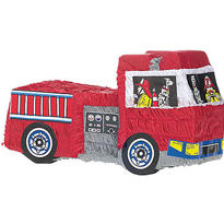 Fire Engine Pinata 19in