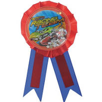 Hot Wheels Speed City Award Ribbon