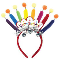 Happy Birthday Candle Headband