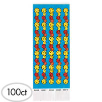 Happy Face Wristbands 100ct