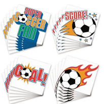 Soccer Tattoos 24ct