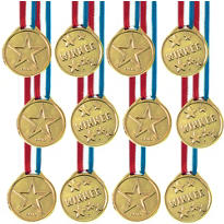 Award Medal Ribbons 12ct