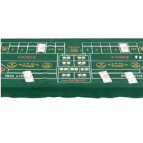 Craps Table Cover 6ft