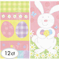 Easter Paper Treat Bags 12ct